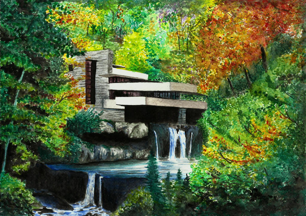 Fallingwater by Lauryell