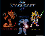 Starcraft 2 Three Classes