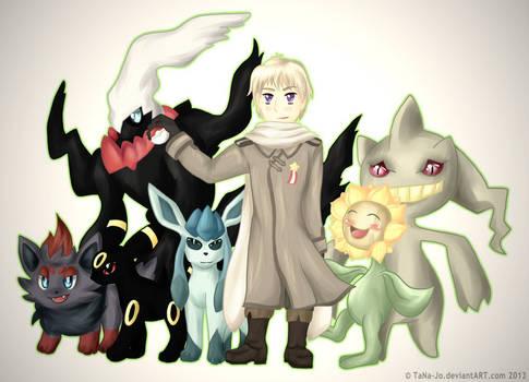 Russia and his Pokemon