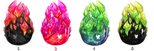 CLOSED Legendary crystal Loki eggs by TaNa-Jo