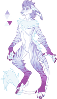 CLOSED Vernid Anthro Ice auction by TaNa-Jo