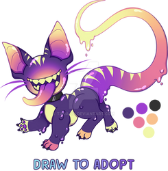 OPEN DTA Draw to Adopt Jellocat