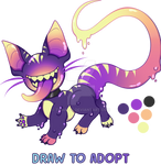 OPEN DTA Draw to Adopt Jellocat