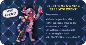 FREE JELLOCAT MYO EVENT closed
