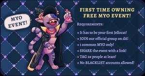 FREE JELLOCAT MYO EVENT OPEN by TaNa-Jo