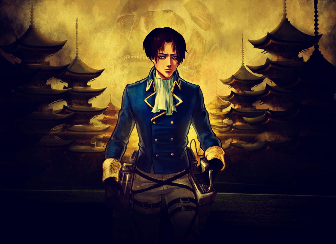 Levi Rivaille (Shingeki No Kyojin) by Bawzon