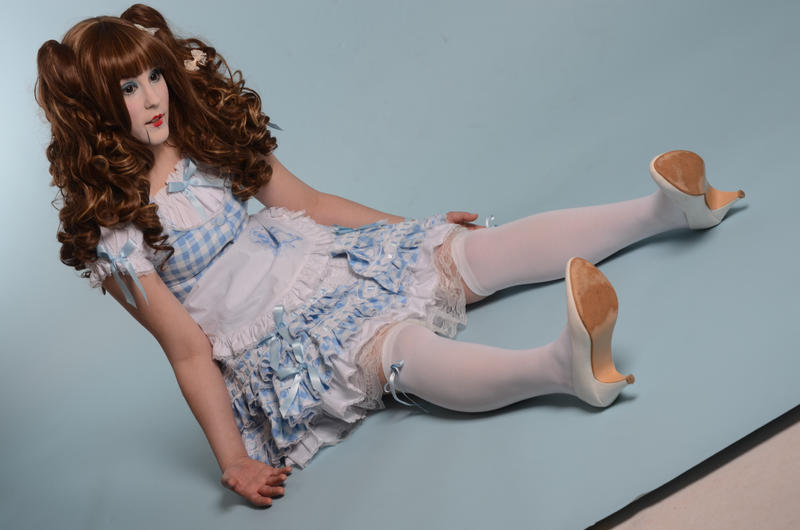Sitting Doll Stock by KillerRu