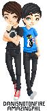 Dan and Phil by miazilla
