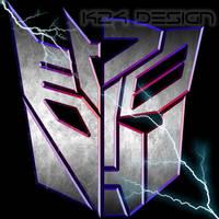 Transformers Split Logo by haz999