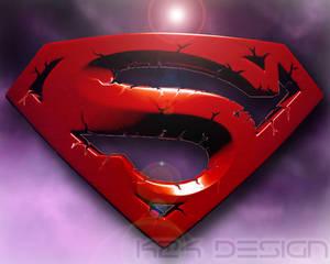 Superman 3D S logo