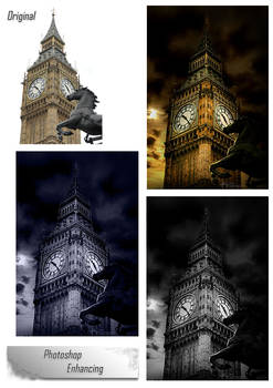 Big Ben Before and After
