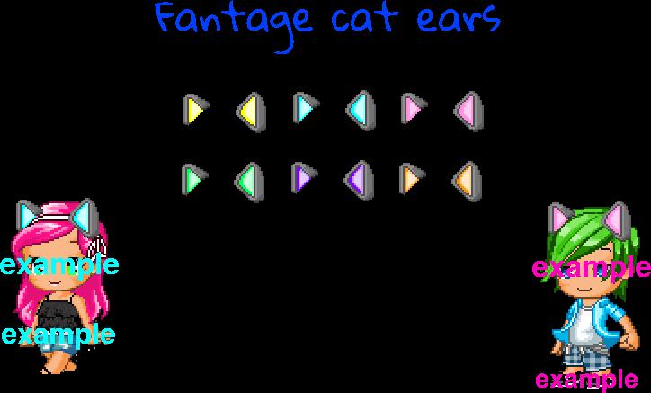 Fantage Cat Ears