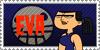 Total Drama Stamp: Eva by GolnazElectric