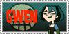 Total Drama Stamp: Gwen by GolnazElectric