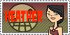 Total Drama Stamp: Heather