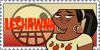 Total Drama Stamp: Leshawna by GolnazElectric