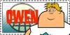 Total Drama Stamp: Owen by GolnazElectric