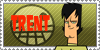 Total Drama Stamp: Trent by GolnazElectric