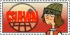 Total Drama Stamp: Shawn by GolnazElectric