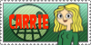 Total Drama Stamp: Carrie by GolnazElectric