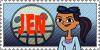 Total Drama Stamp: Jen by GolnazElectric