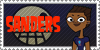 Total Drama Stamp: Sanders by GolnazElectric