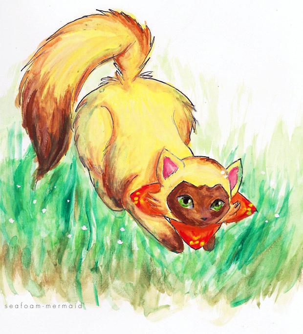 Sagwa The Chinese Siamese Cat By Jennywheat On Deviantart