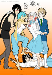 Soul Eater Genderbended by kimikissu07