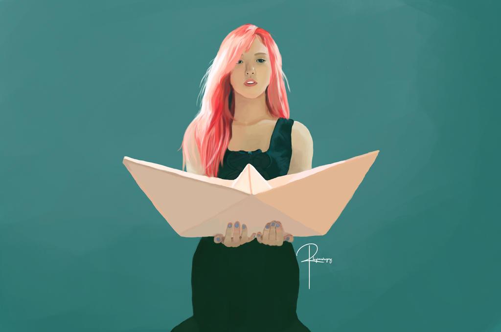 Red Velvet - Wendy by rhegrodriguez