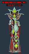 Blood Queen Lana'thel WIP by ropa-to