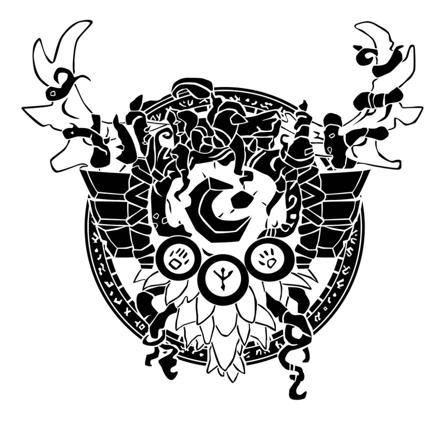 Druid Crest By Ropa To On Deviantart