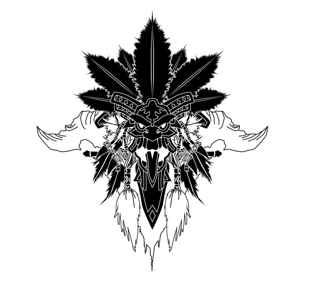 Witch Doctor Crest by ropa-to