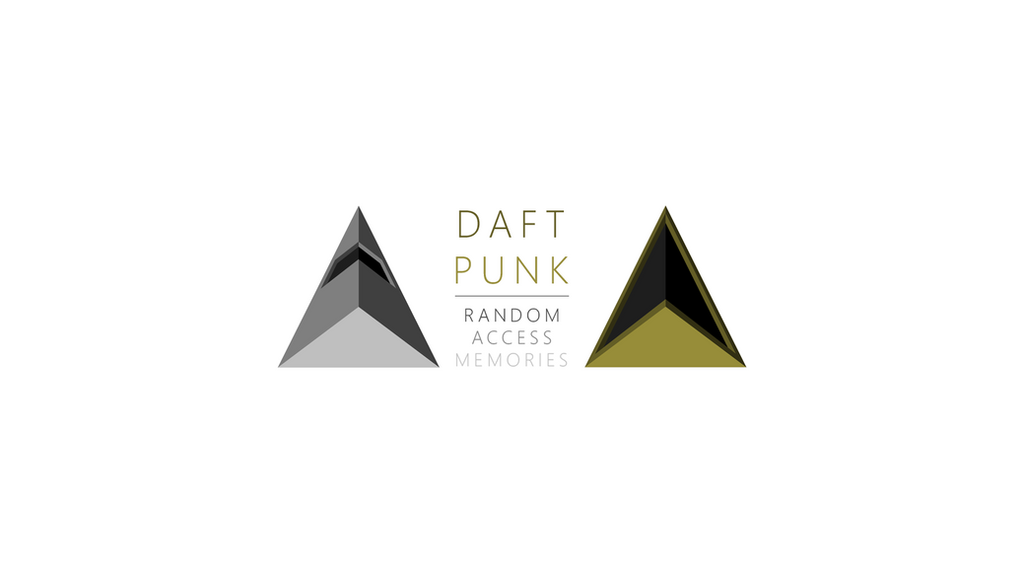 Daft Punk | Random Access Memory Triangles WP 2 by ropa-to