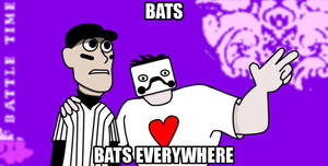 Bats, Bats Everywhere by ropa-to