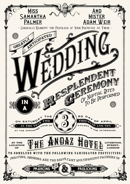 Wedding Invitation by peterbowen