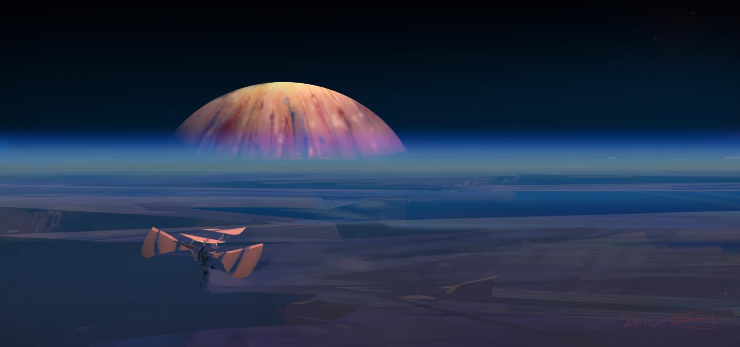 Jovian Rise by TK769