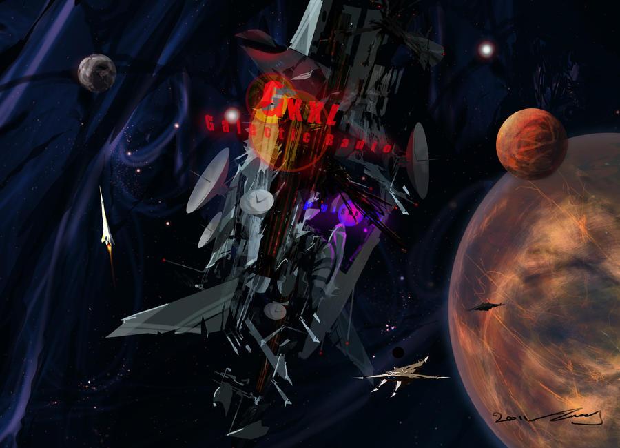 Intergalactic Radio Station by TK769