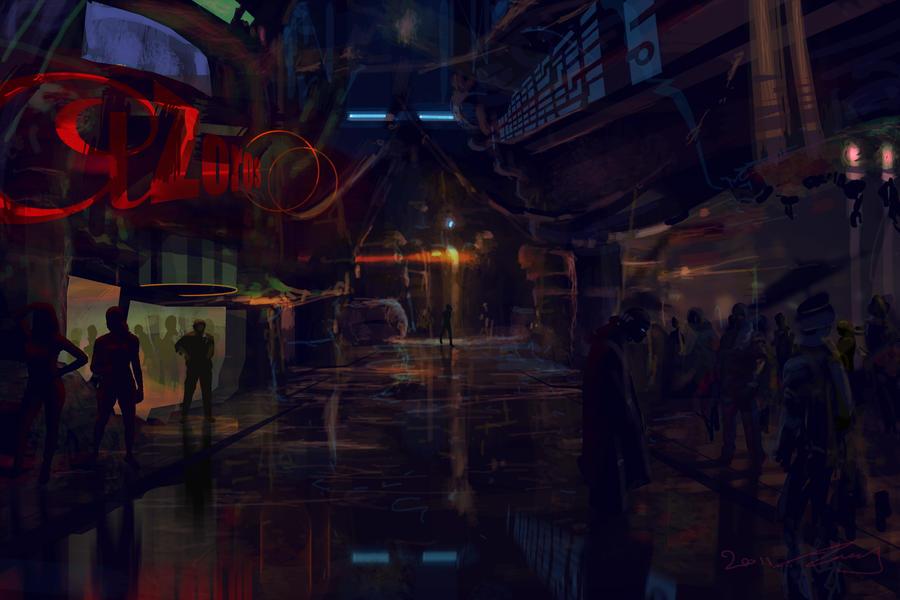 Street scene I by TK769