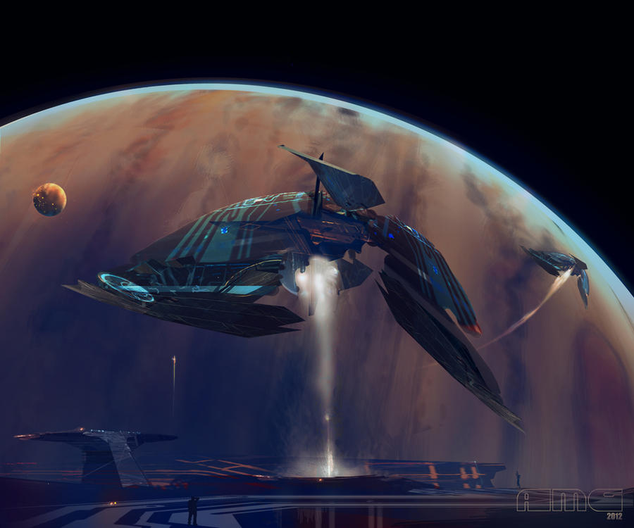 Jovian Sailships II by TK769