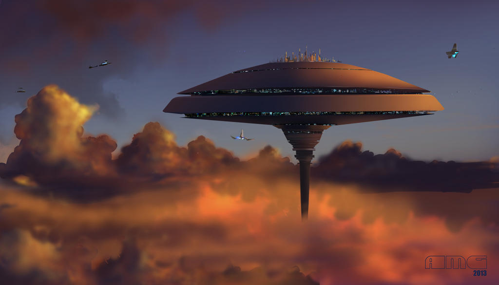 Cloud City, Bespin by TK769