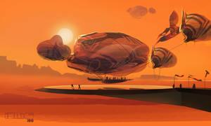 Nomad Desert Blimp