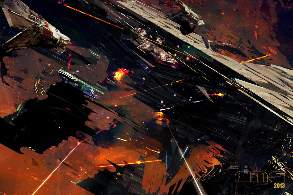 Dogfight Chaos by TK769