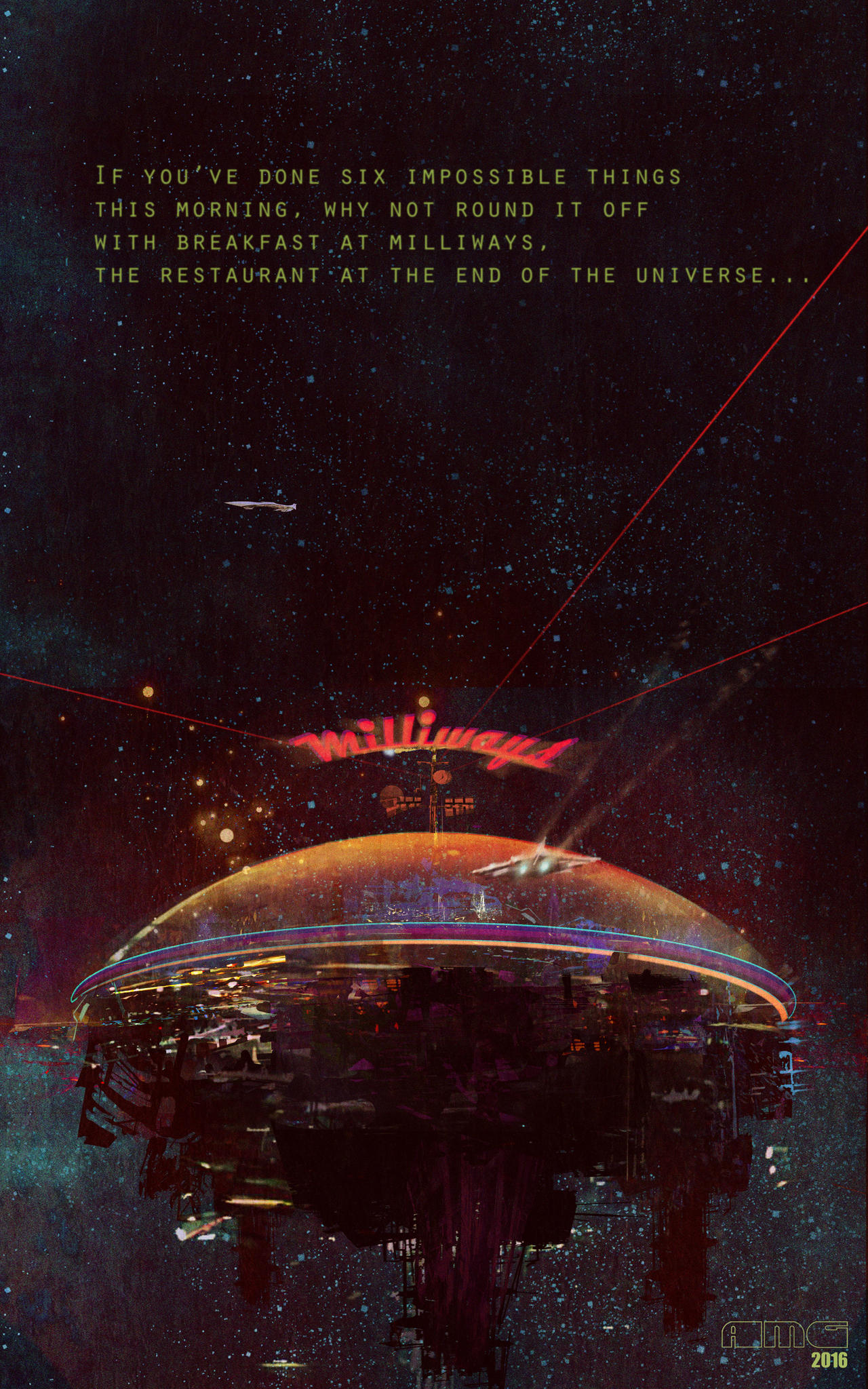 The Restaurant at the End of the Universe by TK769