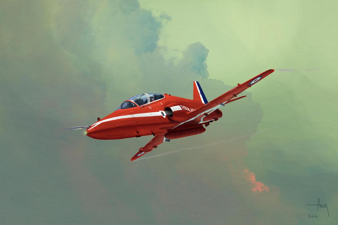 Hawk T1 Red Arrow by TK769