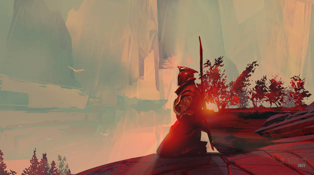 Warlock Sentry On Nessus