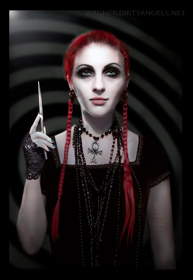 Wednesday Addams by Lichttraegerin