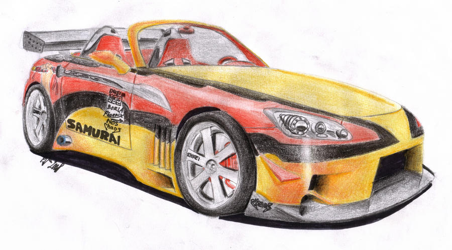 Honda S 2000 by spagi