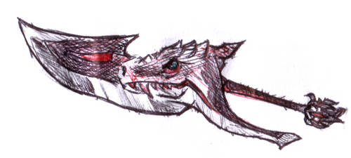 Blood dragon slayer by spagi
