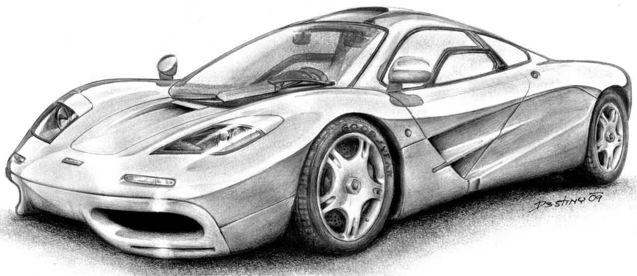 McLaren F1 by spagi on DeviantArt