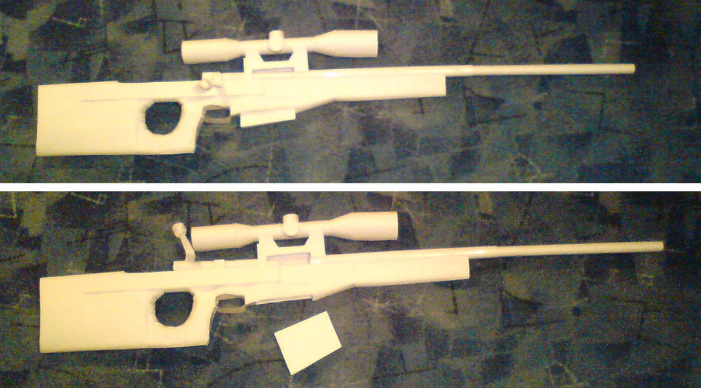 How to Make Paper Sniper Rifle